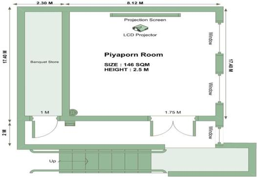 Piyaporn Room Plan